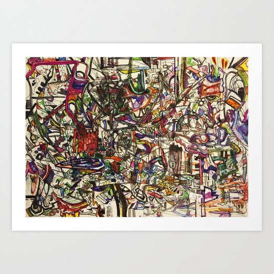 Witchcraft Abstract Art Print