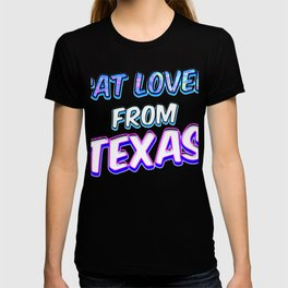 Dog Lover From Texas T-shirt