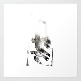 Soul Leaves the Body Art Print