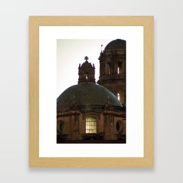 Dome color Framed Art Print