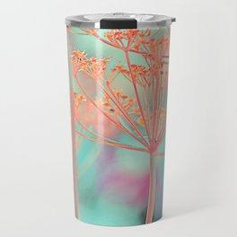 Floral abstract (80) Travel Mug