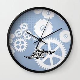 Ockam Razor Wall Clock