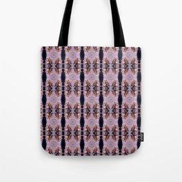 wildflower bouquet, pink pattern Tote Bag