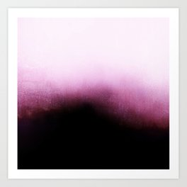 Surrender - Mulberry Purple Ombré Art Print