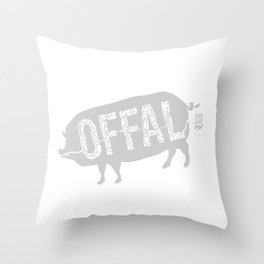 Offal Throw Pillow