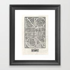 Inception Framed Art Print