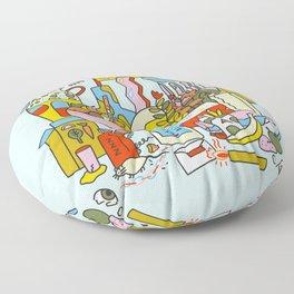 My Still Life Floor Pillow