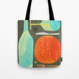 Wine & Dine Kitchen Art Tote Bag