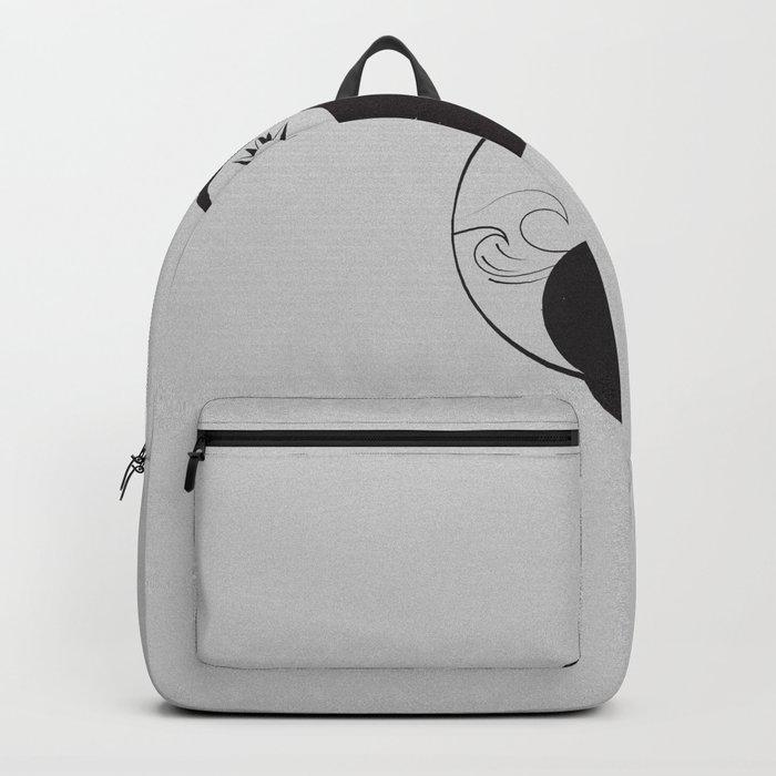 Yin Yang / Sun and Moon Backpack