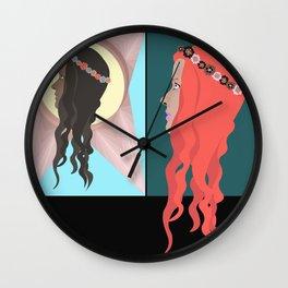 • Jugendstil • Wall Clock