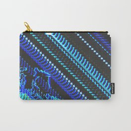 Glitch Prints Carry-All Pouch