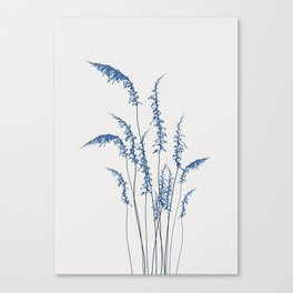 Blue flowers 2 Canvas Print