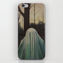 ghost I iPhone Skin