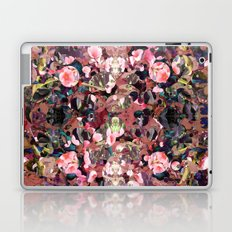 Pink Spot Floral Laptop & iPad Skin