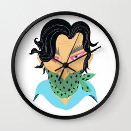Joe Cactus Wall Clock