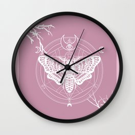 Witch Craft Pastel Wall Clock