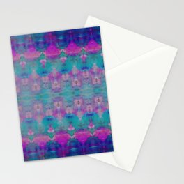 Watercolour Tribal Pink Stationery Cards