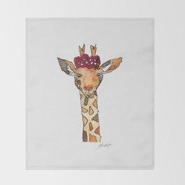 jiraffe Throw Blanket
