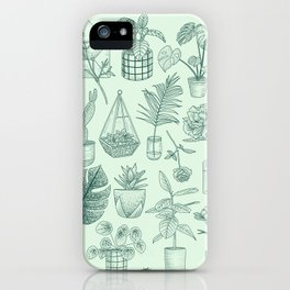 PLANTS LOVER iPhone Case