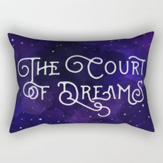 The Court of Dreams - A Court of Mist and Fury by Sarah J. Maas Rectangular Pillow