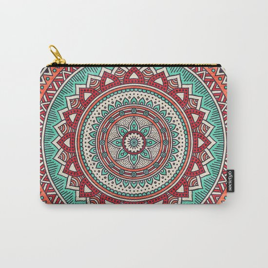 Hippie mandala 1 Carry-All Pouch