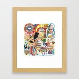PIAFABRAS Framed Art Print
