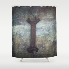 Wrench Shower Curtain