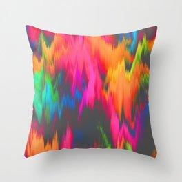 Rainbow Sweat Throw Pillow