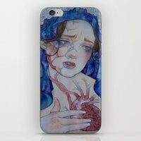 madonna iPhone & iPod Skins featuring Madonna by Danielle Renée Long