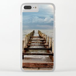 whereever you go Clear iPhone Case