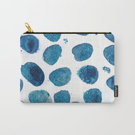 Bubbles floating in the air. Carry-All Pouch