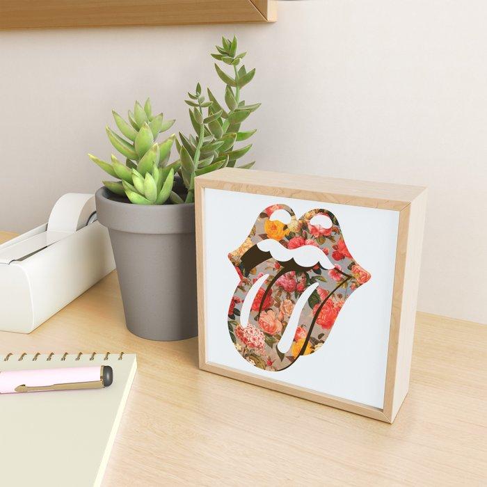 Rolla Flora Framed Mini Art Print