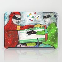pills iPad Cases featuring Pills by Franck Chartron