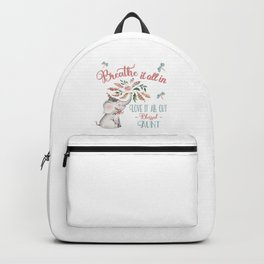 Blessed Aunt T-shirts - Whimsical Elephant Gifts for Aunts Backpack