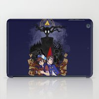 gravity falls iPad Cases featuring Over Gravity by Palolabg