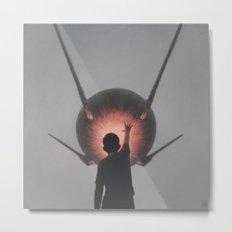 Sputnik Metal Print
