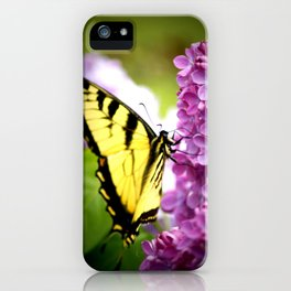 Swallowtail Lilac iPhone Case