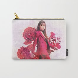 Lola with Roses Carry-All Pouch