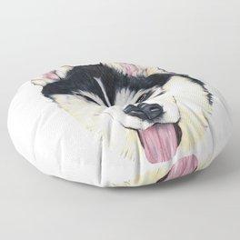 Husky Floor Pillow