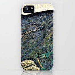 The Dark Mountain, No.2 - Digital Remastered Edition iPhone Case