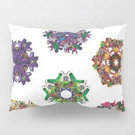 Swirls 0-9 Pillow Sham