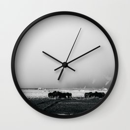 Band of Horses Wall Clock