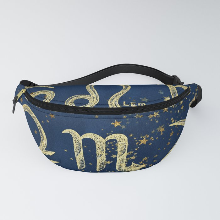 The 12 Zodiac Signs Fanny Pack