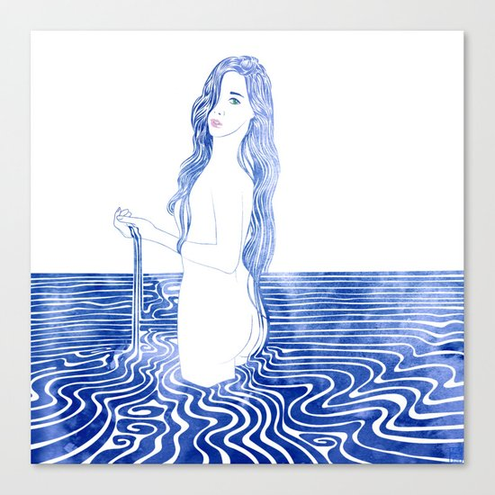Water Nymph LXIII Canvas Print