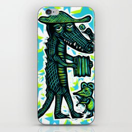 Cajun Gator iPhone Skin
