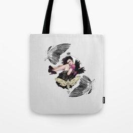 Queen of Wings Tote Bag