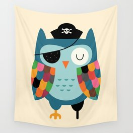 Captain Whooo Wall Tapestry