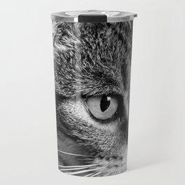 cat look Travel Mug