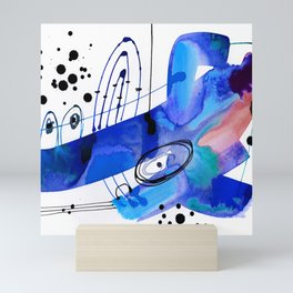 Abstract Serenade 4d by Kathy Morton Stanion Mini Art Print