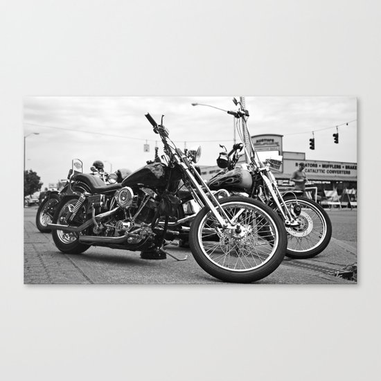 South Tacoma choppers Canvas Print
